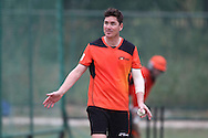 Marcus North of Perth Scorchers during the Perth Scorchers Training Session held at the Sawai Mansingh Stadium in Jaipur on the 28th September 2013<br /> <br /> Photo by Shaun Roy-CLT20-SPORTZPICS <br /> <br /> Use of this image is subject to the terms and conditions as outlined by the CLT20. These terms can be found by following this link:<br /> <br /> http://sportzpics.photoshelter.com/image/I0000NmDchxxGVv4