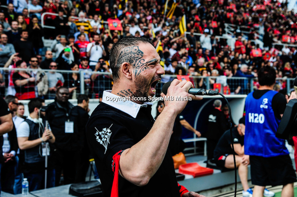 Pilou Pilou - 05.04.2015 - Toulon / Londres Wasps - 1/4Finale European Champions Cup<br />Photo : Dave Winter / Icon Sport