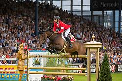 Guerdat Steve, SUI, Venard de Cerisy<br /> CHIO Aachen 2019<br /> Weltfest des Pferdesports<br /> © Hippo Foto - Stefan Lafrentz<br /> Guerdat Steve, SUI, Venard de Cerisy