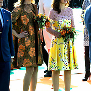 Koningsdag 2014 in de Rijp, het vieren van de verjaardag van de koning. / Kingsday 2014 in the Rijp , celebrating the birthday of the King. <br /> <br /> <br /> Op de foto / On the photo:   Prinses Anita en Prinses Aimee / Princess Anita and Princess Aimee