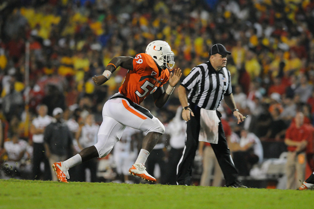 2011 Miami Hurricanes Football @ Maryland<br /> <br /> James Gaines