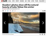 Beauty of Lake Tahoe<br /> Image: &quot;Vanishing Beach Sunset&quot;
