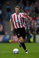 Photo: Jed Wee/Sportsbeat Images.<br /> Scunthorpe United v Sunderland. Pre Season Friendly. 21/07/2007.<br /> <br /> Sunderland's Danny Collins.