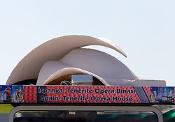 Scultures of world famous places from participants countries at 2010 FIBA World Championships on September 7, 2010 at the Sinan Erdem Dome in Istanbul, Turkey. At picture Spain - Tenerife Opera House.(Photo By Vid Ponikvar / Sportida.com)