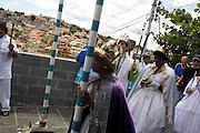 Belo Horizonte_MG, Brasil...Festa de Congado no Nova Floresta, Minas Gerais...The Congado party in Nova Floresta, Minas Gerais...Foto: LEO DRUMOND / NITRO