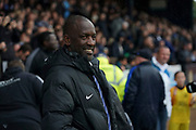 /Southend United manager Chris Powell during the EFL Sky Bet League 1 match between Southend United and Oxford United at Roots Hall, Southend, England on 6 October 2018.