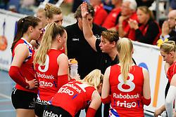 20170430 NED: Eredivisie, VC Sneek - Sliedrecht Sport: Sneek<br />Petra Groenland, headcoach of VC Sneek<br />&copy;2017-FotoHoogendoorn.nl / Pim Waslander