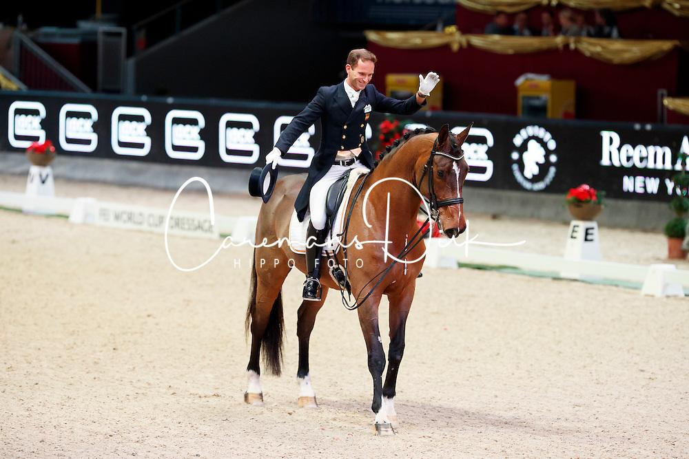 Carrascosa Borja, ESP, Foco Loco W<br /> MEVISTO Amadeus Horse Indoor Salzburg<br /> &copy; Hippo Foto - Stefan Lafrentz<br /> 11-12-2016