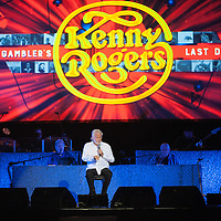 Kenny Rogers in concert at The SSE Hydro, Glasgow, Scotland, Great Britain 31st October 2016