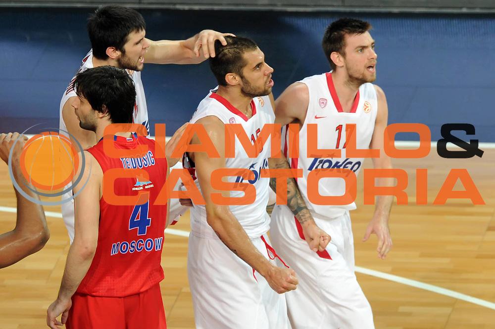 DESCRIZIONE : Istanbul Eurolega Eurolegue 2011-12 Final Four Finale Final CSKA Moscow Olympiacos<br /> GIOCATORE : Georgios Printezis Evangelos Mantzaris Kostas Papanikolau<br /> SQUADRA : Olympiacos<br /> EVENTO : Eurolega 2011-2012<br /> GARA : CSKA Moscow Olympiacos<br /> DATA : 13/05/2012<br /> CATEGORIA : <br /> SPORT : Pallacanestro<br /> AUTORE : Agenzia Ciamillo-Castoria/GiulioCiamillo<br /> Galleria : Eurolega 2011-2012<br /> Fotonotizia : Istanbul Eurolega Eurolegue 2010-11 Final Four Finale Final CSKA Moscow Olympiacos<br /> Predefinita :