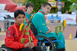 05/08/2017; Podium at 2017 World Para Athletics Junior Championships, Nottwil, Switzerland