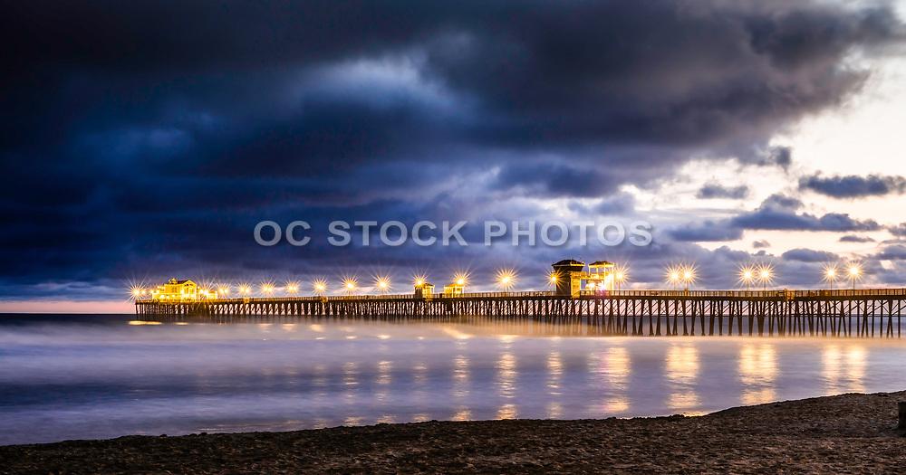 Storm Clouds Over Oceanside Pier