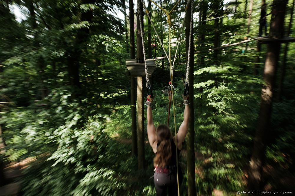 Seilpark Kloten, Sommer, Sport, Betriebsausflug