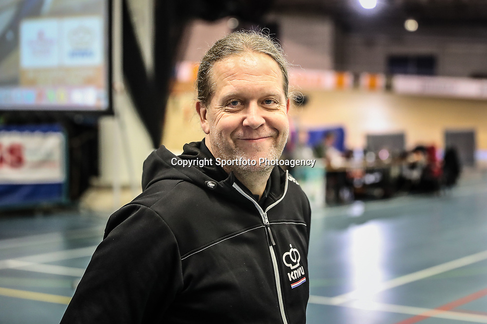 27-12-2017: Wielrennen: NK Baan: Alkmaar <br />Bill Huck bondscoach sprinters