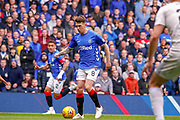 Ryan Jack of Rangers FC during the Ladbrokes Scottish Premiership match between Rangers and Aberdeen at Ibrox, Glasgow, Scotland on 27 April 2019.