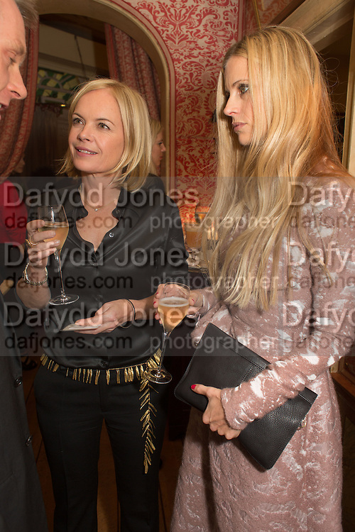 MARIELA FROSTRUP; LAURA BAILEY, Charles Finch and  Jay Jopling host dinner in celebration of Frieze Art Fair at the Birley Group's Harry's Bar. London. 10 October 2012.