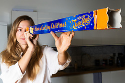 McVitie's Christmas Yard of Jaffa Cakes now contains forty Jaffa Cakes, eight fewer than in previous years. London, November 09 2018.