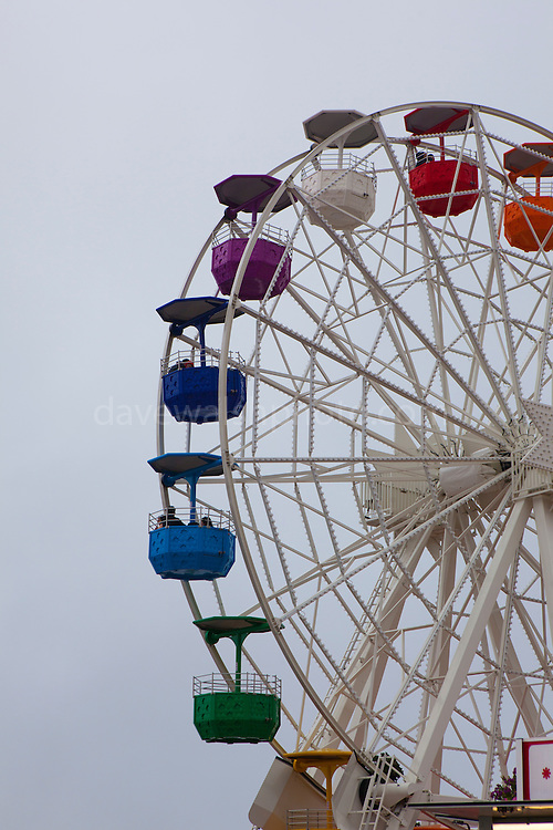 "Clouds envelope the amusement park ferris wheel at Tibidabo, Barcelona. This mage can be licensed via Millennium Images. Contact me for more details, or email mail@milim.com For prints, contact me, or click ""add to cart"" to some standard print options."