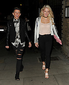 X Factor's James Hughs pictured with Chloe Paige