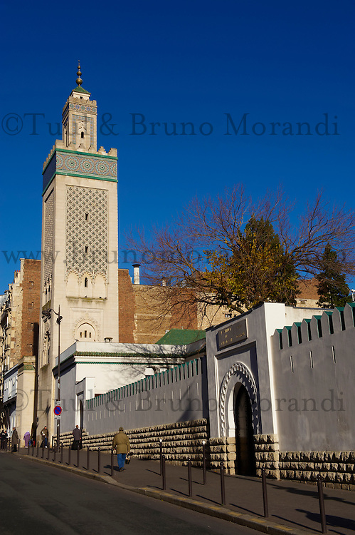 France, Paris (75), la Grande Mosquée de Paris // France, Paris (75), Mosquee of Paris