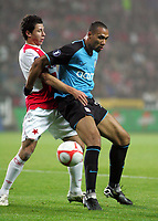 Prague FC Slavia Prague v Aston Villa UEFA Cup 06/11/2008<br />