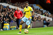 Wilfried Zaha of Crystal Palace during the Barclays Premier League match at Villa Park, Birmingham<br /> Picture by Andy Kearns/Focus Images Ltd 0781 864 4264<br /> 01/01/2015