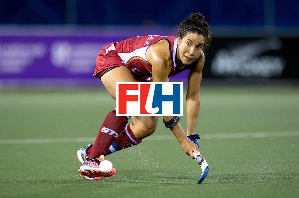 AUCKLAND - Sentinel Hockey World League final women<br /> Match id: 10300<br /> 10 New Zealand v USA<br /> Foto: Bal focus Melissa (Gonzalez C) <br /> WORLDSPORTPICS COPYRIGHT FRANK UIJLENBROEK