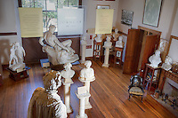 Sculpture studio at Elizabet Ney Museum, Austin, Texas