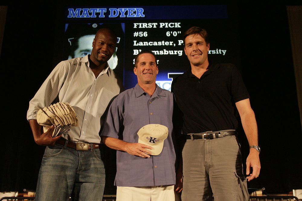Coach K Academy 2007. Draft night and team shots in Cameron.