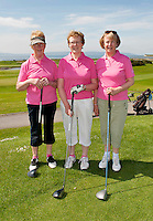 Birr  Golf Club, Marie Tooher, Margaret Feehan and Mary Sullivan  one of the 18 golf clubs who qualified for The 2012 Ladies Irish Open Club Challenge Connaught Final battled it out at Galway Golf Club with the winning team going through to play in the Ladies Irish Open PRO-AM in Killeen Castle on August 2nd. .MORE:.The winning team Galway Golf Club of  Clodgah Hennessy, Sheelagh Kearney and Alice Murphy,  earn a once-in-a-lifetime opportunity to play with a professional at the Ladies Irish Open in August along with an over-night stay and invitation to the Gala Dinner..Over 180 clubs throughout the country, resulting in a total of 584 teams and 1,752 ladies, entered this year?s Club Challenge with 120 teams qualifying for the provincial finals. The participating clubs are competing in the fifth staging of the Club Challenge following the outstanding success of The 2011 Solheim Cup, the greatest global marquee event in ladies golf which saw Alison Nicholas? team of Europeans win back the coveted trophy by a margin of 14.5 - 12.5 in the most exciting staging of the event ever recorded, in Killeen Castle, Co. Meath..For the latest information on The 2012 Ladies Irish Open Club Challenge and to purchase tickets for The 2012 Ladies Irish Open visit www.ladiesirishopen.ie.Photo:Andrew Downes. ..