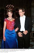 Eleanor Legge Bourke & Gil Pereira de Lima. Crillon Hotel debutante `Ball. 27 November 1999. © Copyright Photograph by Dafydd Jones<br />66 Stockwell Park Rd. London SW9 0DA<br />Tel 0171 733 0108