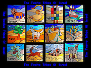 A collage of the Twelve Tribes of Israel depicted in stained glass. An Israelite is a member of the Twelve Tribes of Israel, descended from the twelve sons of the Biblical patriarch Jacob who was renamed Israel by God in the book of Genesis, 32:28. The Israelites were a group of Hebrews, as described in the Hebrew Bible. According to the Hebrew Bible, the Israelites were the descendants of the children of Jacob, later known as Israel. His twelve male children were Reuben, Simeon, Levi, Judah, Issachar, Zebulun, Dan, Gad, Naphtali, Asher, Joseph, and Benjamin. Twelve tribes of Israel are listed in the Tanakh (Hebrew Bible, Old Testament).
