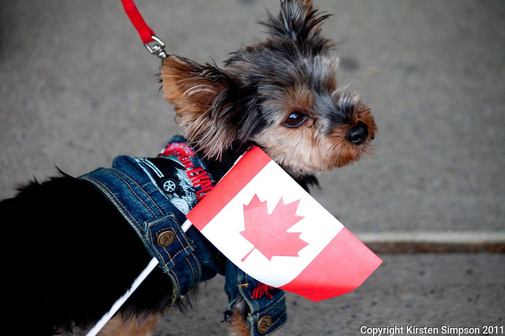 Canada Day celebrations in Jasper
