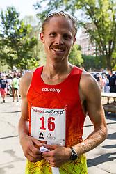 New Haven Road Race 20K: USATF Championship: Jared Ward, Saucony, winner