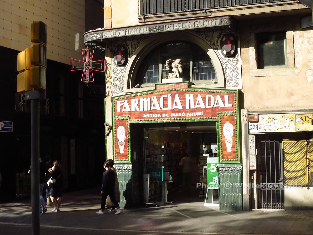 Farmàcia Nadal on La Rambla, Barcelona