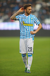 "Foto Filippo Rubin<br /> 01/12/2018 Ferrara (Italia)<br /> Sport Calcio<br /> Spal - Empoli - Campionato di calcio Serie A 2018/2019 - Stadio ""Paolo Mazza""<br /> Nella foto: MANUEL LAZZARI (SPAL)<br /> <br /> Photo Filippo Rubin<br /> December 01, 2018 Ferrara (Italy)<br /> Sport Soccer<br /> Spal vs Empoli - Italian Football Championship League A 2018/2019 - ""Paolo Mazza"" Stadium <br /> In the pic: MANUEL LAZZARI (SPAL)"