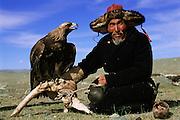 Kazakh Eagle Hunter<br />Ulgii Provence, MONGOLIA