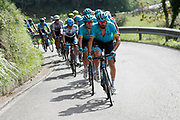 Dario Cataldo (ITA, Astana Pro Team) during the 73th Edition of the 2018 Tour of Spain, Vuelta Espana 2018, Stage 15 cycling race, 15th stage Ribera de Arriba - Lagos de Covadonga 178,2 km on September 9, 2018 in Spain - Photo Luis Angel Gomez/ BettiniPhoto / ProSportsImages / DPPI