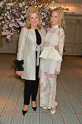 Left to right, SERENA FRESSON and her daughter ALICE NAYLOR-LEYLAND at the launch of Mrs Alice in Her Palace - a fashion retail website, held at Fortnum & Mason, Piccadilly, London on 27th March 2014.