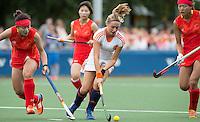 BREDA - Marijn Veen tijdens de finale van het Volvo Invitatie Toernooi U21 tussen de vrouwen van Nederland (Jong Oranje)  en China (5-1) . COPYRIGHT KOEN SUYK