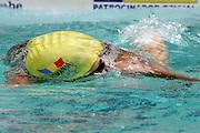 Belo Horizonte_MG, Brasil...Nadadora Camelia Potec, da Romenia, na prova de 400m livre, durante a  ultima etapa da Copa do Mundo de Natacao 2006 em Belo Horizonte...The swimmer Camelia Potec, of Romania, in the 400 m freestyle, during the last stage of the Swimming World Cup 2006 in Belo Horizonte...Foto: LEO DRUMOND / NITRO..