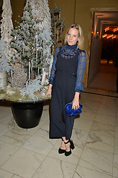 ALICE NAYLOR-LEYLAND at the unveiling of a Very Special Malone Souliers Christmas Tree, In Support Of Starlight Children's Foundation held at The Club Cafe Royal, Regent Street, London on 2nd December 2015.