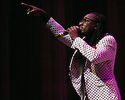 Lotan D. Floyd performs at the Roc Awards at the Kodak Theater on Sunday, February 15, 2015.