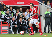 Lee Tomlin during the Sky Bet Championship match between Middlesbrough and Brighton and Hove Albion at the Riverside Stadium, Middlesbrough, England on 2 May 2015.
