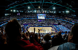 Arena during basketball match between National Teams of Finland and Iceland at Day 7 of the FIBA EuroBasket 2017 at Hartwall Arena in Helsinki, Finland on September 6, 2017. Photo by Vid Ponikvar / Sportida