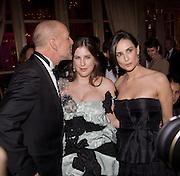 SCOUT WILLIS; BRUCE WILLIS; DEMI MOORE. The 2008 Crillon Debutante Ball, Crillon Hotel. Paris. 29 November 2008 *** Local Caption *** -DO NOT ARCHIVE -Copyright Photograph by Dafydd Jones. 248 Clapham Rd. London SW9 0PZ. Tel 0207 820 0771. www.dafjones.com