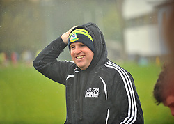 Stephen Rochford enjoying the coaching session with Westport GAA's Minor's and U16's squads as part of the Health and Wellness event that took place at the club last week.