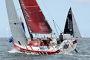 Nicolas Lunven (Generali) during the start of the Douarnenez Fastnet Solo 2017 on September 17, 2017 in Douarnenez, France - Photo Francois Van Malleghem / ProSportsImages / DPPI