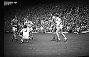 The All Ireland Senior Football Final.1982.19.09.1982.09.19.1982.19th September 1982..The senior final was contested between Offaly and Kerry. Offaly won the title by the narrowest of margins 1.15 to 17 points..A break in play as a freekick was awarded to Offaly.