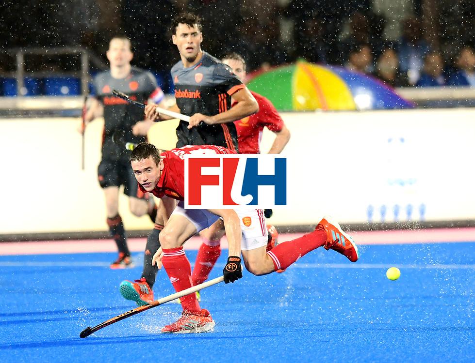 Odisha Men's Hockey World League Final Bhubaneswar 2017<br /> Match id:17<br /> England v Netherlands<br /> Foto: Phil Roper (Eng) <br /> COPYRIGHT WORLDSPORTPICS FRANK UIJLENBROEK